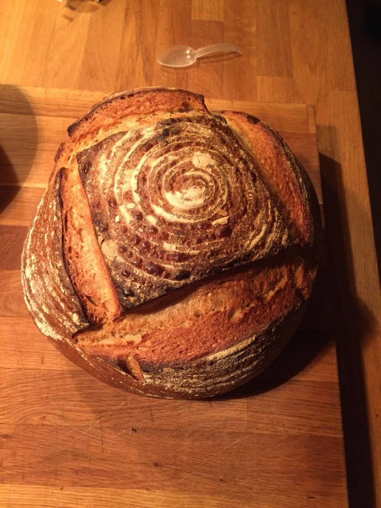 Das Brot ist fertig.